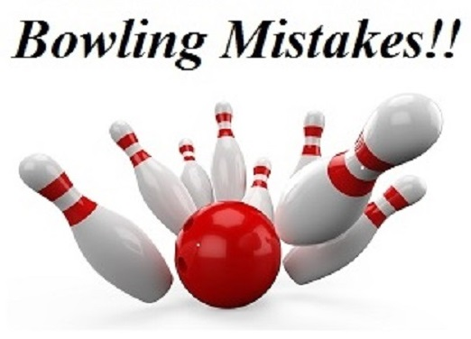 Bowling Mistakes, Falling Off Your Shot