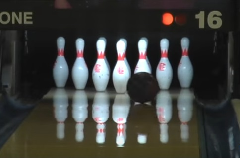 Bowling Ball Motion, Roll Phase, Basic Motion Of A Bowling Ball, Motion Of A Bowling Ball, Roll Zone