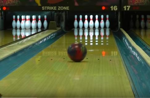 Bowling Ball Motion, Slide Phase, Basic Motion Of A Bowling Ball, Motion Of A Bowling Ball, Slide Zone