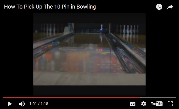 insider bowling tips, bowling tips, bowling technique, Ten Pin Bowling Tips, Converting The 10 Pin in Bowling, Sparing the 10 pin in bowling, The Bowling 10 pin, 10 pin in bowling